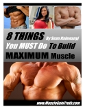 8 things by sean nalewanyi you must do to build maximun muscle
