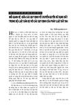 """Báo cáo """"Mối quan hệ giữa các quy định về chủ quyền sử dụng đất trong bộ luật dân sự với các quy định của pháp luật đất đai """""""