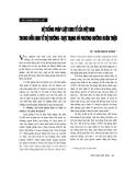 """Báo cáo """" Hệ thống pháp luật kinh tế của Việt Nam trong nền kinh tế thị trường - thực trạng và phương hướng hoàn thiện """""""