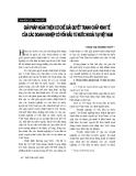 """Báo cáo """"Giải pháp hoàn thiện cơ chế giải quyết tranh chấp kinh tế của các doanh nghiệp có vốn đầu tư nước ngoài tại Việt Nam """""""