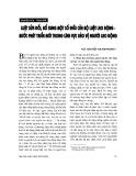 """Báo cáo """"Luật sửa đổi, bổ sung một số điều của bộ luật Lao động - bước phát triển mới trong lĩnh vực bảo vệ người lao động """""""