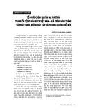 """Báo cáo """" Tổ chức chính quyền địa phương của nước Cộng hoà XHCN Việt Nam - quá trình hình thành và phát triển, những bất cập và phương hướng đổi mới """""""