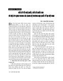 """Báo cáo """"  Đối xử tối huệ quốc, đối xử quốc gia và việc áp dụng trong các quan hệ thương mại quốc tế tại Việt Nam """""""