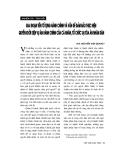 """Báo cáo """" Giai đoạn tiền tố tụng hành chính và vấn đề đảm bảo thực hiện quyền khởi kiện vụ án hành chính của cá nhân, tổ chức tại toà án nhân dân """""""