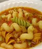 Súp mì Ý truyền thống