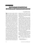 """Báo cáo """"Công ước về xoá bỏ mọi hình thức phân biệt đối xử với phụ nữ - bước phát triển của Luật quốc tế trong lĩnh vực bảo vệ quyền cơ bản của phụ nữ """""""