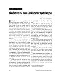 """Báo cáo """" Tội phạm kinh tế và đấu tranh phòng chống tội phạm này ở Việt Nam trong giai đoạn hiện nay"""""""