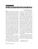 """Báo cáo """"Hoàn thiện các tiêu chuẩn môi trường về nước thải công nghiệp ở Việt Nam """""""
