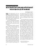 """Báo cáo """"Một số vấn đề về giấy chứng nhận quyền sử dụng đất theo quy định của Luật đất đai năm 2003 """""""