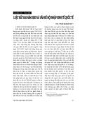 """Báo cáo """"   Luật đất đai năm 2003 và vấn đề hội nhập kinh tế quốc tế"""""""