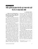 Nghiên cứu trao đổi: Thẩm quyền ban hành văn bản quy phạm pháp luật về xử lý vi phạm hành chính