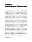 """Báo cáo """"Quan niệm về doanh nghiệp - một số vấn đề về phương pháp luận """""""