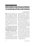 """Báo cáo """" Nguyên tắc công nhận và cho thi hành tại Việt Nam bản án, quyết định dân sự của toà án nước ngoài, quyết định của trọng tài nước ngoài """""""