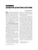 """Báo cáo """" Pháp luật Việt Nam trong tiến trình toàn cầu hoá"""""""