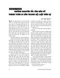 """Báo cáo """"Những nguyên tắc căn bản về thanh toán di sản trong Bộ luật dân sự """""""