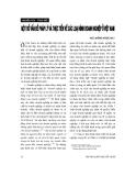 """Báo cáo """" Một số vấn đề pháp lý và thực tiễn về các loại hình doanh nghiệp ở Việt Nam"""""""