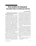 """Báo cáo """"Thủ tục giải quyết các yêu cầu liên quan đến hoạt động của trọng tài thương mại Việt Nam """""""