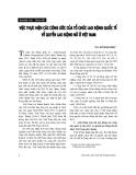 """Báo cáo """"Việc thực hiện các công ước của Tổ chức lao động quốc tế về quyền lao động nữ ở Việt Nam """""""