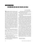 """Báo cáo """"Khái niệm nhãn hiệu hàng hoá trong Bộ luật dân sự """""""