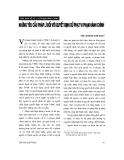 """Báo cáo """"Vài nét về vai trò chính quyền cấp xã trong Pháp lệnh xử lí vi phạm hành chính năm 2002 """""""