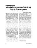 """Báo cáo """"Những điểm mới trong các quy định về người bào chữa của Bộ luật tố tụng hình sự năm 2003 """""""