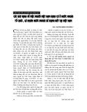 """Báo cáo """" Các quy định về việc người Việt Nam định cư ở nước ngoài. tổ chức, cá nhân nước ngoài sử dụng đất tại Việt Nam"""""""