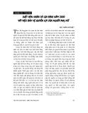 """Báo cáo """"Luật Hôn nhân và gia đình năm 2000 với việc bảo vệ quyền lợi của người phụ nữ """""""