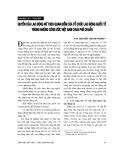 """Báo cáo """" Quyền của lao động nữ theo quan điểm của tổ chức lao động quốc tế trong những công ước Việt Nam chưa phê chuẩn"""""""