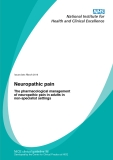 Neuropathic pain - The pharmacological management of neuropathic pain in adults in non-specialist settings