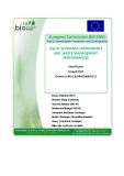 USE OF ECONOMIC INSTRUMENTS AND WASTE MANAGEMENT PERFORMANCES
