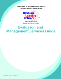 Evaluation and Management Services Guide