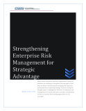 Strengthening Enterprise Risk Management for Strategic Advantage
