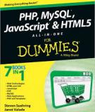 PHP MySQL JavaScript & HTML5 All-in-One For Dummies