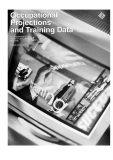 occupational projections and training data 2000 2001