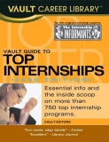 vault guide to top internships 2005