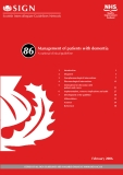 Management of patients with dementia:  A national clinical guideline
