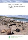 New Zealand sea lion species management plan: 2009–2014