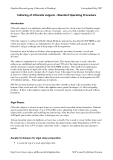 Báo cáo : Culturing of Chlorella vulgaris - Standard Operating Procedure