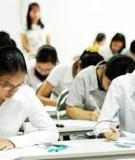 Đề thi thử đại học lần I (2012 – 2013) môn toán  - Trường THPT Đông Sơn I