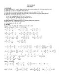 ÔN TẬP HKII Môn toán 6 - phần 3