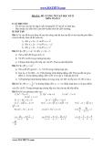 Đề cương ôn tập học kỳ II môn toán lớp 9