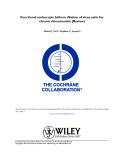 Functional endoscopic balloon dilation of sinus ostia for chronic rhinosinusitis (Review)