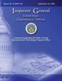 contracts supporting the dod counter narco terrorism technology program office