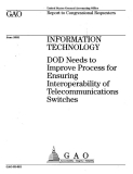 information technology dod needs to improve process for ensuring