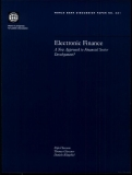 electronic finance a new approach to financial sector development