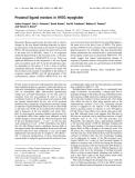 Báo cáo Y học: Proximal ligand motions in H93G myoglobin