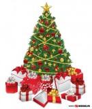 Trang trí cây thông rực rỡ đón Giáng sinh