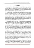 Đề tài: Quản lý thuế theo cơ chế tự khai tự nộp tại tỉnh Nam Định