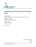 geoengineering governance and technology policy