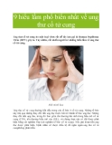 9 hiểu lầm phổ biến nhất về ung thư cổ tử cung